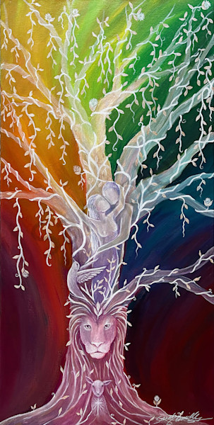 """""""Eden"""" by South Carolina Prophetic Artists Sarah Camille Soltani Icely   Prophetics Gallery"""