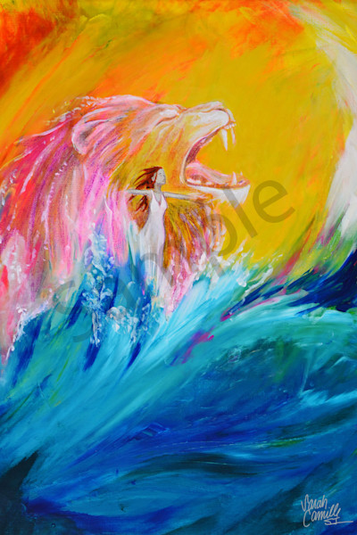 """""""Rise"""" by South Carolina Prophetic Artist Sarah Camille Soltani Icely 