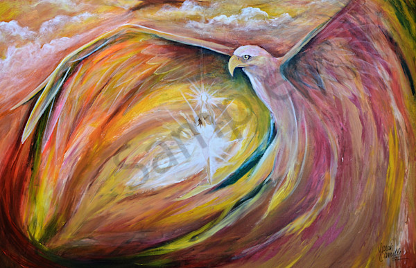 """""""Refining Fire"""" by South Carolina Prophetic Artist Sarah Camille Soltani Icely   Prophetics Gallery"""