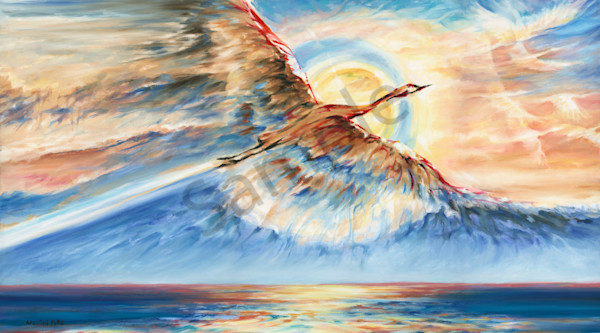 """""""Air And Water"""" by Canadian Prophetic Artist Melani Pyke 