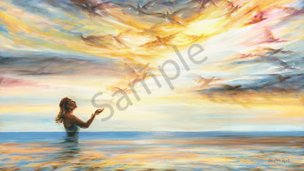 """Liberating Imagination"" by Canadian Prophetic Artist Melani Pyke | Prophetics Gallery"