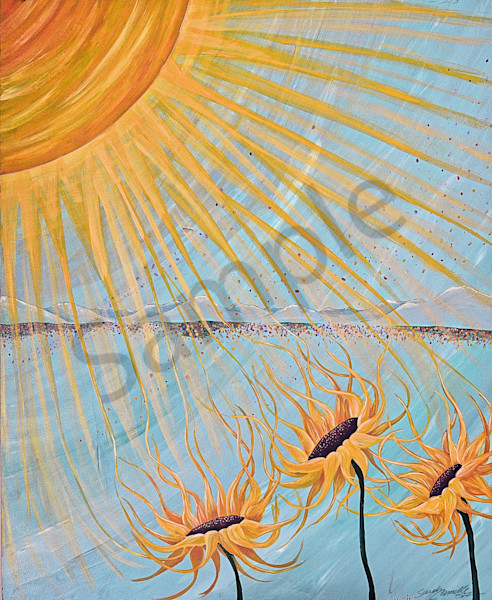 """""""New Day"""" by South Carolina Prophetic Artist Sarah Camille Soltani Icely 