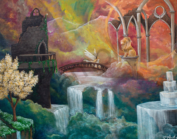 """""""Kingdom Come"""" by South Carolina Prophetic Artist Sarah Camille Soltani Icely 