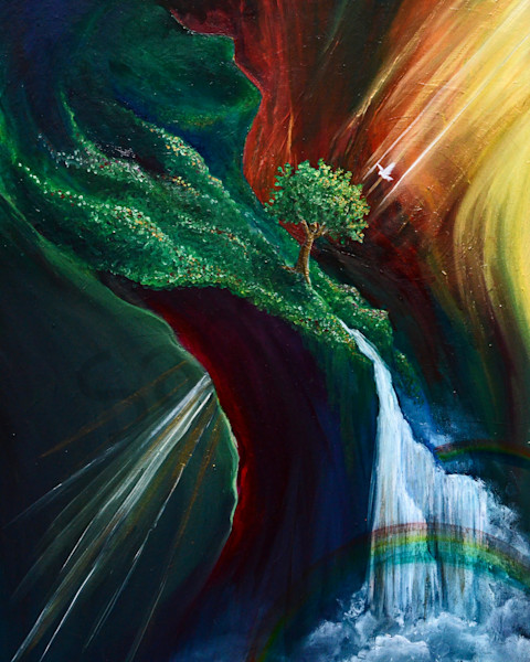 """""""Deeper"""" by South Carolina Prophetic Artist Sarah Camille Soltani Icely 