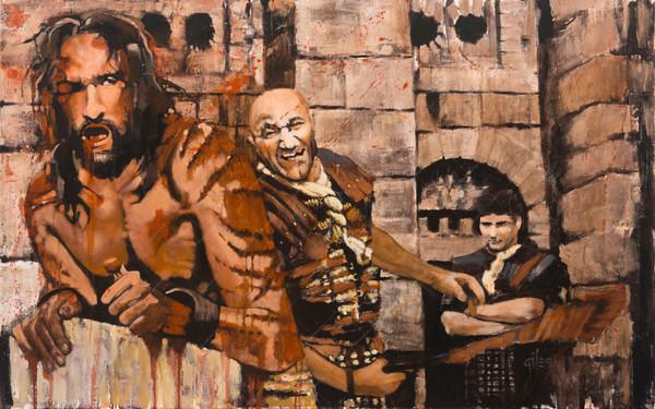 Isaiah 53 5 High Rez Art | Doug Giles Art, LLC
