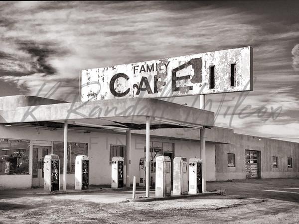 Desert Center Cafe Art | K. Randall Wilcox Fine Art