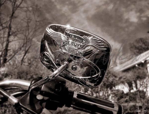Live To Ride Art | K. Randall Wilcox Fine Art