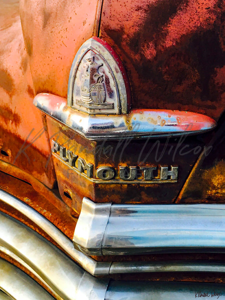 Old Plymouth Detail Art | K. Randall Wilcox Fine Art
