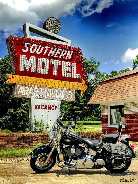 Southern Motel Art | K. Randall Wilcox Fine Art