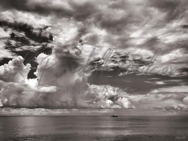 Lone Charter Art | K. Randall Wilcox Fine Art
