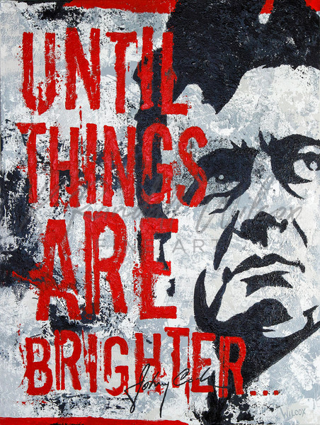 Johnny Cash   Until Things Are Brighter... Art   K. Randall Wilcox Fine Art