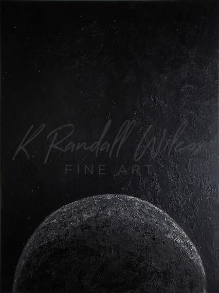 Dark Moon Rising Art | K. Randall Wilcox Fine Art