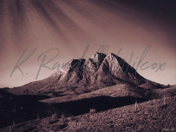 Valley Of Shadows Art   K. Randall Wilcox Fine Art