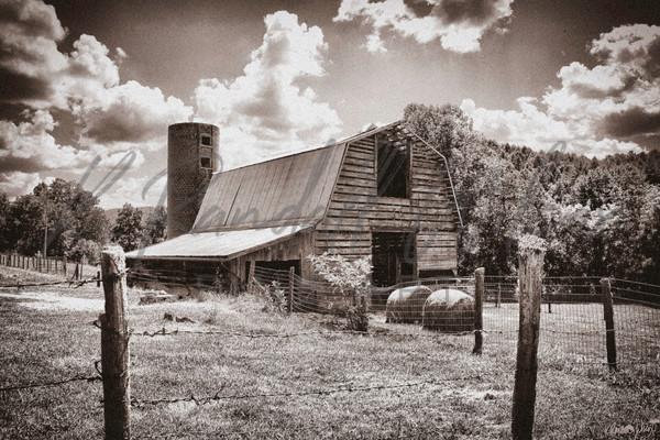 Slagle Family Barn Art | K. Randall Wilcox Fine Art