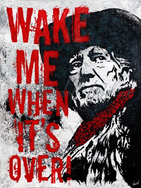 Willie Wake Me When It's Over Art | K. Randall Wilcox Fine Art