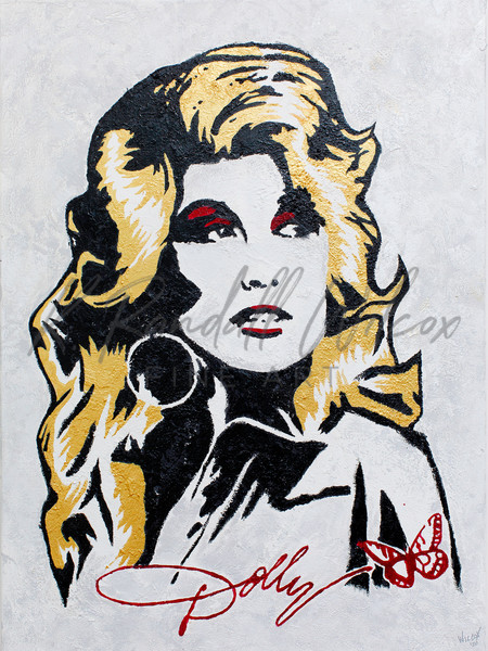 Dolly Pure Dolly Art | K. Randall Wilcox Fine Art