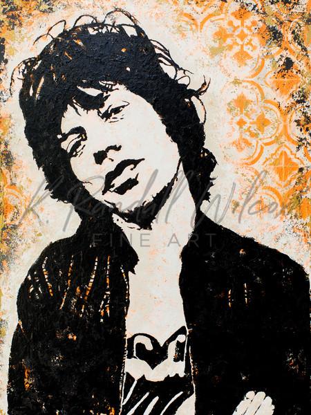 Mick Shine A Light Art | K. Randall Wilcox Fine Art