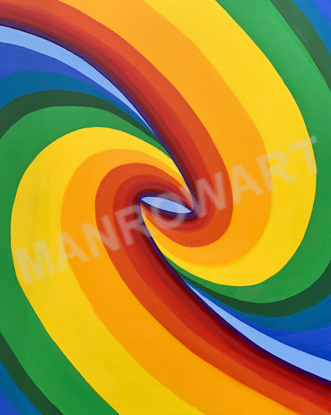 Birth Of A Rainbow (Right Vertical) Art | Brandon Manrow Fine Art