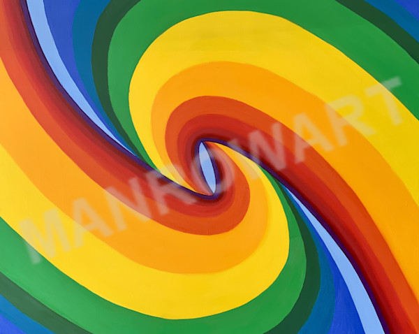 Birth Of A Rainbow (Left Horizontal) Art | Brandon Manrow Fine Art