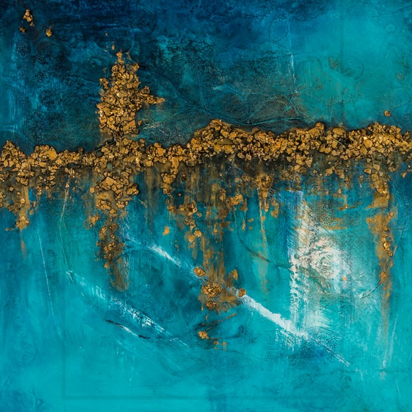 Skylinge 1 | Painting by Lucy Ghelfi | For Sale