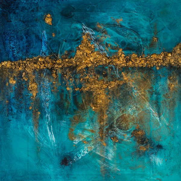 Skyline 2 | Painting by Lucy Ghelfi | For Sale