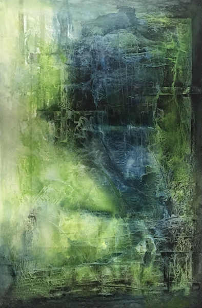 Shades of Granite | Painting  by Lucy Ghelfi | For Sale