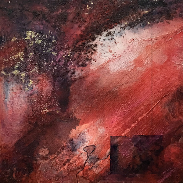 Cosmic Fire 3 | Paintings by Lucy Ghelfi | For Sale