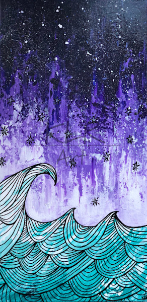 Starry Night Surf art