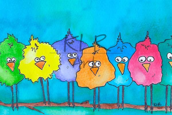 The Original Twitters animal art