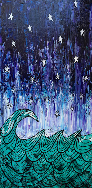 Starry Night 2 Surf Art