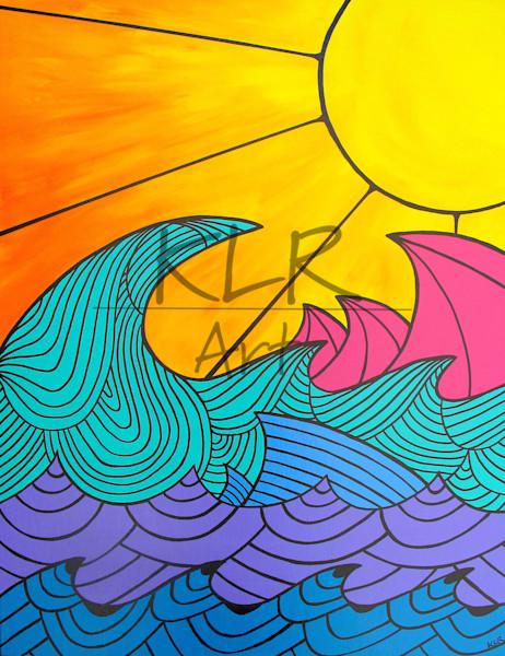 Nalu ʻAiō surf art
