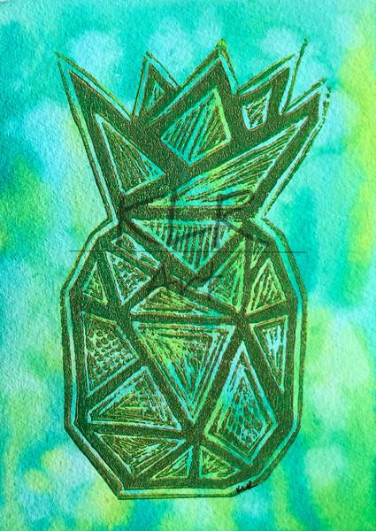 2020 Pineapple 5x7 Print  Art | KLR ART