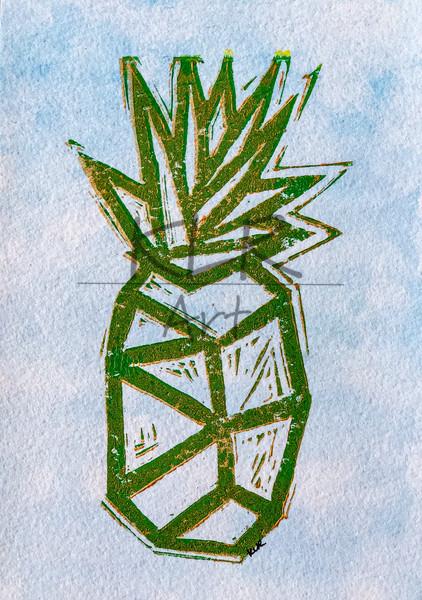 2020 Pineapple 5x7 Print 2 Art | KLR ART