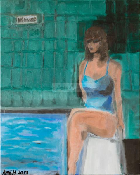 No Diving  Art | Fine Art by Ane