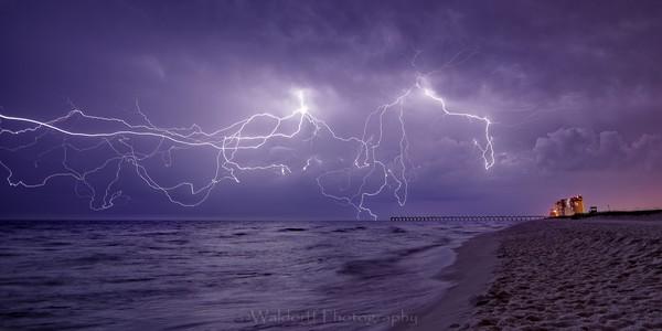 Electrified Beach