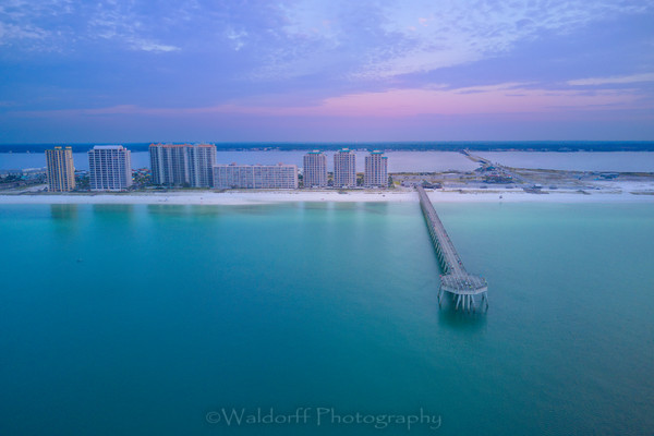 Summertime Blue. Wall art from Navarre Beach, Florida