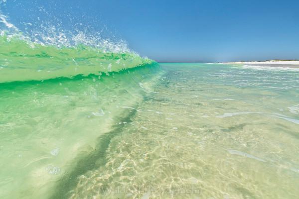 Emerald Wave #2 Photography Art | Waldorff Photography