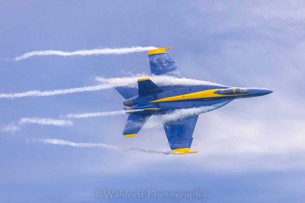 Blue Angel 2021 #1 Photography Art | Waldorff Photography