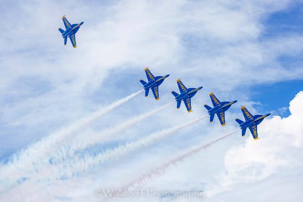 Blue Angel 2021 #7 Photography Art | Waldorff Photography