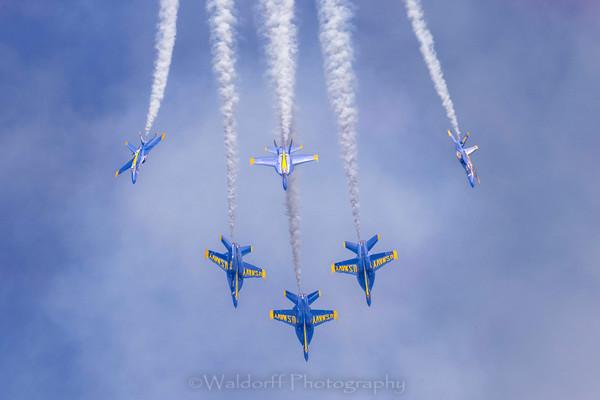 Blue Angel 2021 #6 Photography Art | Waldorff Photography