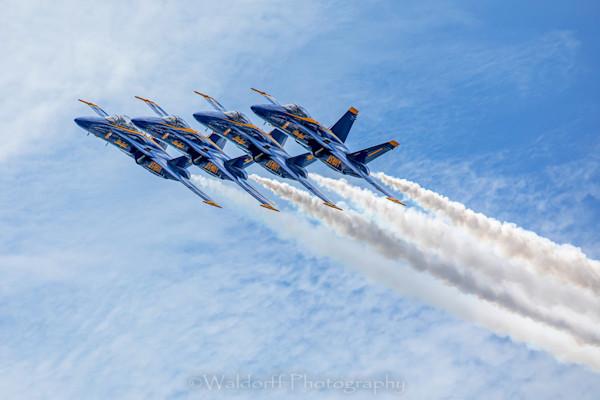 Blue Angel 2019 #4 (19 Cf) Photography Art | Waldorff Photography