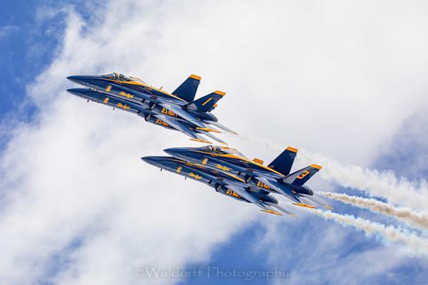 Blue Angel 2019 #5 (19 Cg) Photography Art | Waldorff Photography