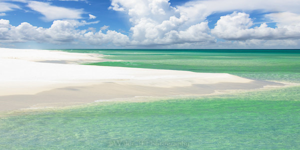 Sculpted Shore | Emerald Coast, Florida  | Fine Art Landscape Photography on Canvas, Paper, Metal, Acrylic | Photography by Jeff Waldorff