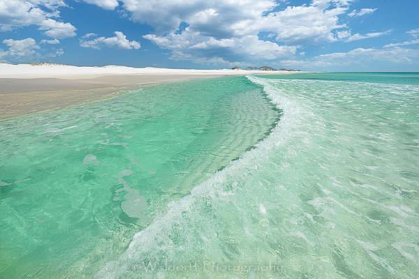 Emerald Surf Photography Art | Waldorff Photography