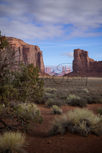 Monument Valley through the Window