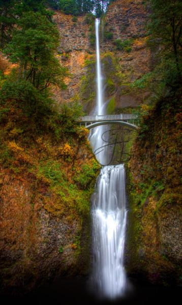 20141228 Multnomah Falls 1 Edit Art | dougbusby