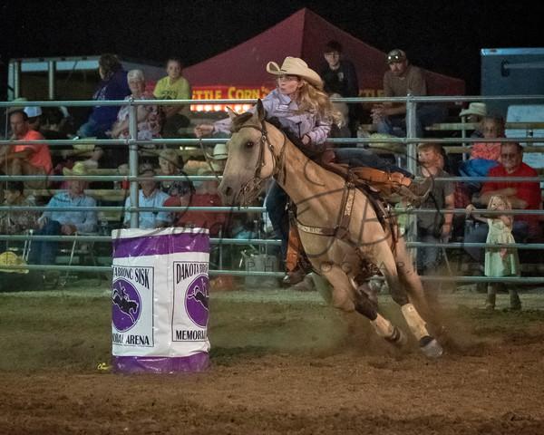 Dakota Bronc Sisk Rodeo 7115 Edit Output Art | dougbusby
