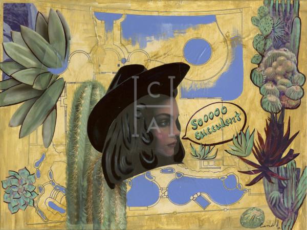 Sooooo Succulent' High Quality Giclee Print Art