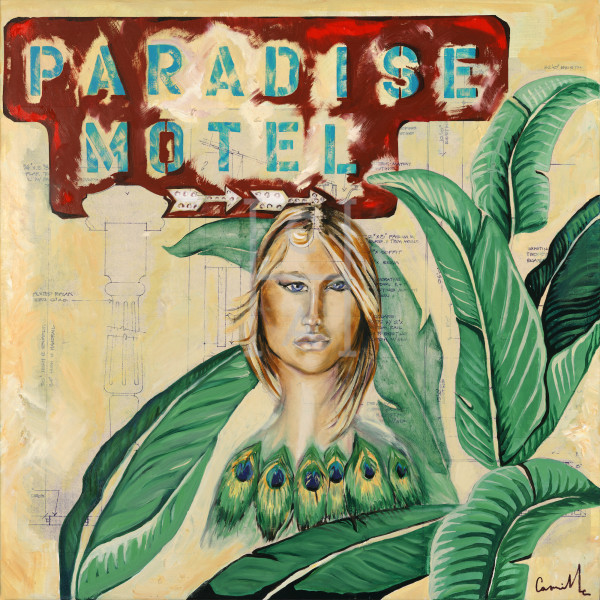 Paradise Motel' de Camille High Quality Giclee Print Art