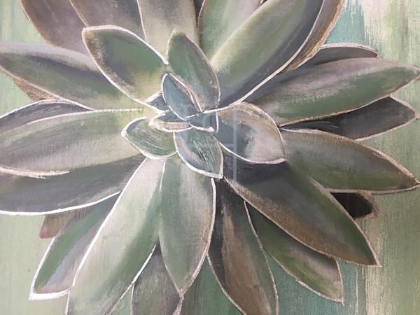 Peek A Me Succulent de Camille High Quality Giclee Print Art